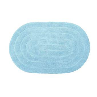 Tapete-Oval-Allegro-Azul-Ceu-Kapazi-40x60cm