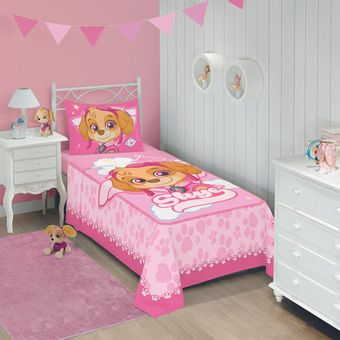 Jogo-de-Cama-Infantil-Patrulha-Canina-Menina-3-Pecas
