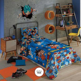 Edredom-Infantil-Dupla-Face-Dragon-Ball-Lepper