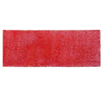 Tapete-Passadeira-Jolitex-Realce-Liso-Pelo-Alto-Vermelha-66x180cm