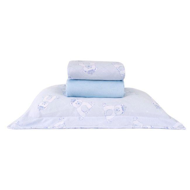 Jogo-de-Cama-para-Berco-3-Pecas-Pequeno-Principe-Azul-Sofisticata-Atlantica