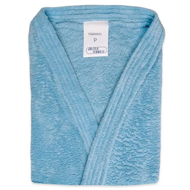 Roupao-Fleece-Jolitex-Tamanho-P-Azul-Claro