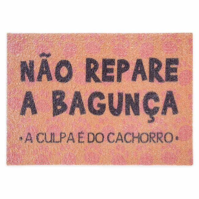 Tapete-Capacho-de-Porta-Jolitex-40x60cm-Nao-Repare-a-Bagunca