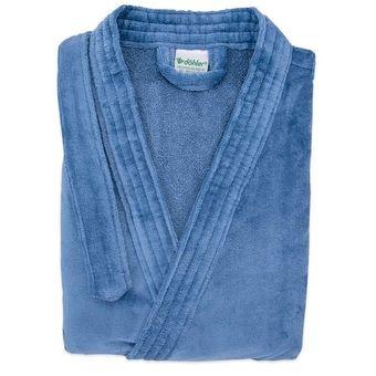 Roupao-Quimono-Dohler-Aveludado--Tam-M----Azul