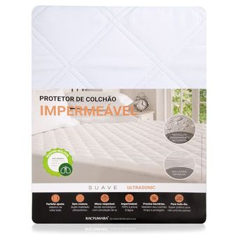 Protetor-de-Colchao-Impermeavel-Solteiro-UltraSonic-Kacyumara-Branco-90x190x30cm-