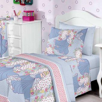 Jogo-de-Cama-Infantil-3-Pecas-Disney-Light-Princess-World-1-Rosa