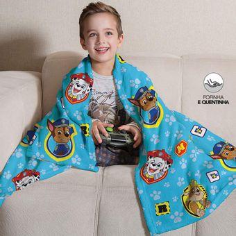Manta-Infantil-para-Sofa-Fleece-Patrulha-Canina-Menino-Lepper