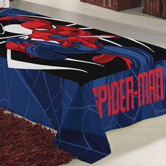 Manta-Infantil-Fleece-Spider-Man-Lepper