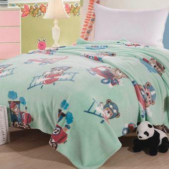 Cobertor-Infantil-Sultan-Microfibra-Ursinho-Aviador-250-g-m²-