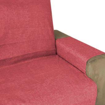 Protetor-de-Sofa-2-Lugares-Vermelho-Maringa-Elegance---Izaltex