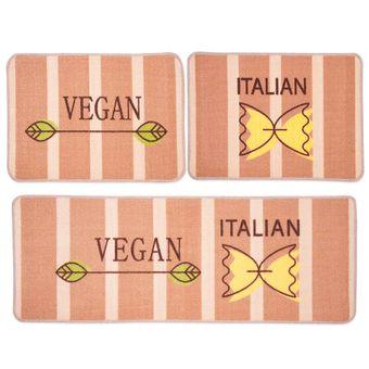 Jogo-de-Tapetes-para-Cozinha-3-Pecas-Jolitex-Menu-Vegan