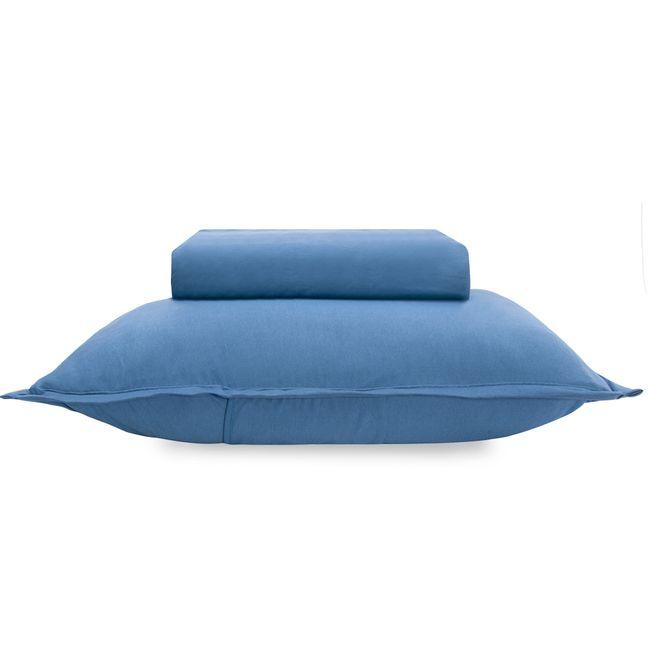 Jogo-de-Cama-Solteiro-Buettner-Malha-2-Pecas-Image-Azul-Marinho