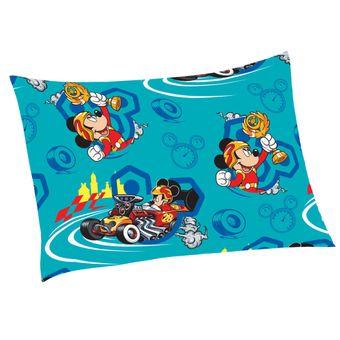 Fronha-Infantil-Mickey-Aventura-Sobre-Rodas