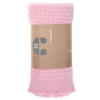 Manta-para-Sofa-Tricot-Lepper-Doce-Trama-127x152cm-Rosa
