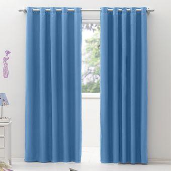 Cortina-Blackout-com-Voil-Izaltex-280-x-230cm---Azul