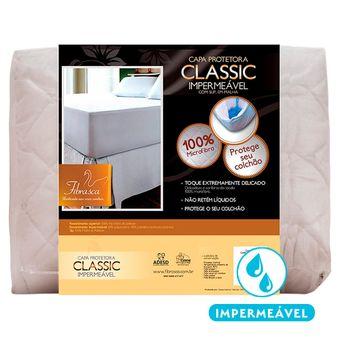 Protetor-de-Colchao-Impermeavel-Mini-Cama-Fibrasca-Branco-Malha-Classic-70x150x45cm