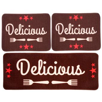 Jogo-de-Tapetes-para-Cozinha-3-Pecas-Jolitex-Menu-Delicious