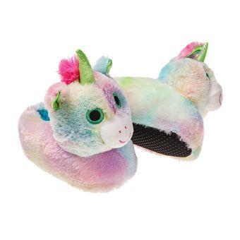 Pantufa-Infantil-Unicornio-Arco---Iris-Europa-26-27