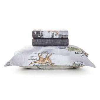 Jogo-de-Cama-Infantil-Karsten-180-Fios-Dinossauros-3-Pecas