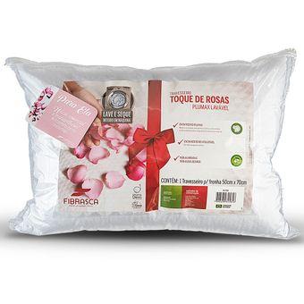 Travesseiro-Fibrasca-Toque-de-Rosas-Plumax-Lavavel-Fibra
