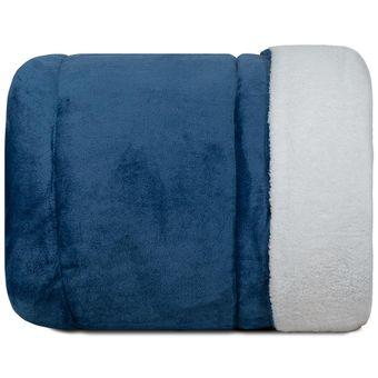Edredom-Queen-Size-Dupla-Face-com-Sherpa-Dias-Calmos-Azul