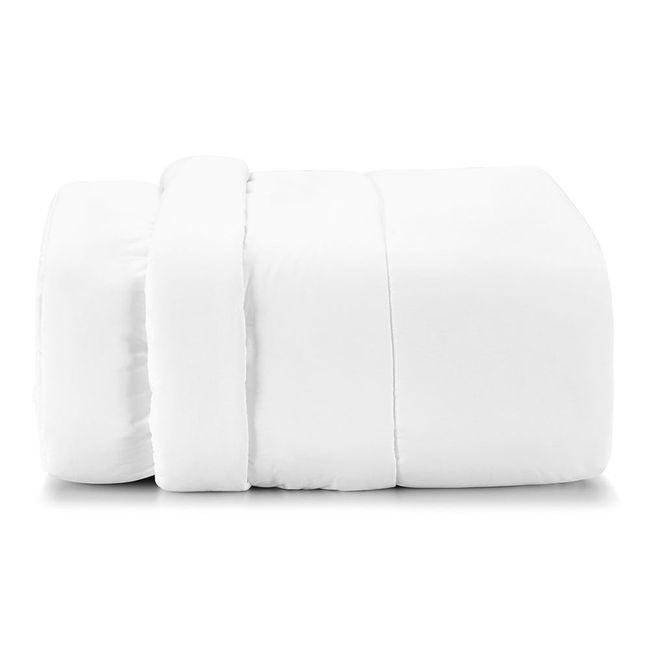 Edredom-Queen-Size-Karsten-180-Fios-Liss-Branco