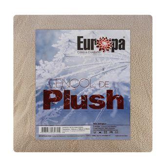Lencol-de-Plush-Casal-Europa--138x188x35cm----Bege