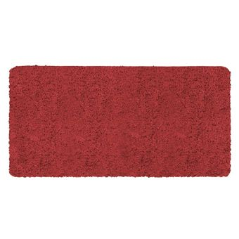 Tapete-Passadeira-Jolitex-Realce-Liso-Pelo-Alto-Vermelha-50x100cm