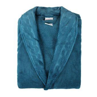 Roupao-Feminino-Gola-Texturizada-Microfibra-Atlantica-Azul-Denin--G-
