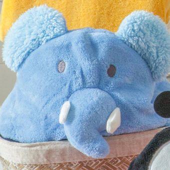 Manta-para-Bebe-com-Capuz-Jolitex-75x100cm-Elefante-Azul