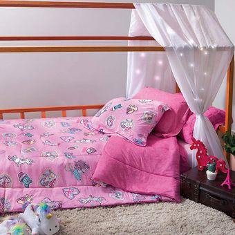 Colcha-Infantil-Mundo-Encantado-Malha-100--Algodao-Sofisticata-Atlantica-90x145cm