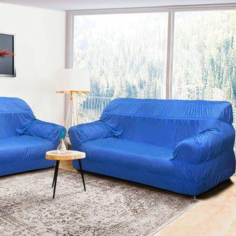 Capa-para-Sofa-3-e-2-Lugares-21-Elasticos-Azul-Alteza-Light---Izaltex
