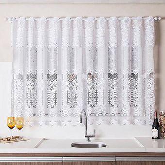 Cortina-de-Renda-para-Cozinha-Classica-com-Bando-Branca-Arabesco-220-x-120-x-30cm-Interlar