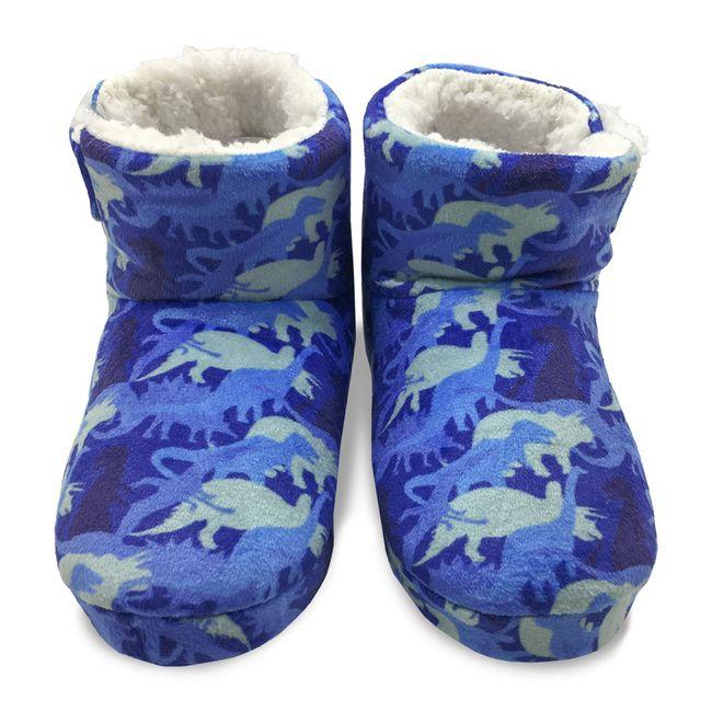 Pantufa-Bebe-Botinha-Azul-com-Forro-Sherpa-Europa-19-20