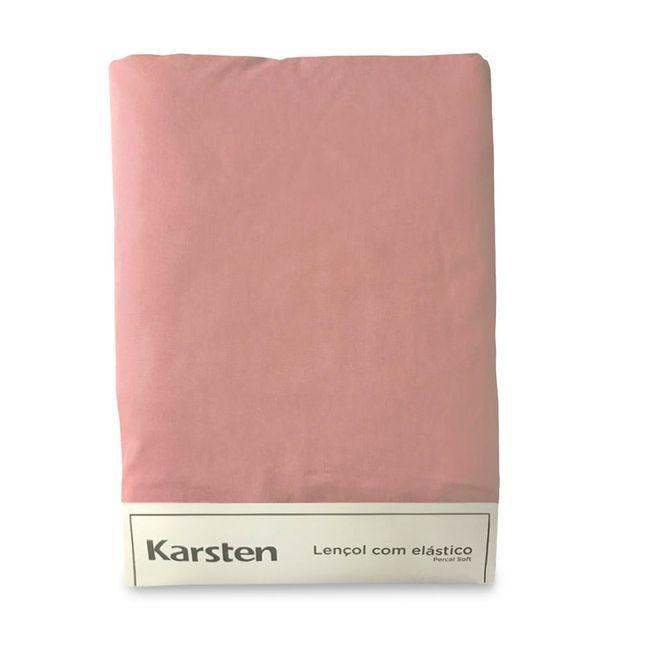 Lencol-Avulso-Casal-Karsten-180-Fios-Liss-Rosa-138x188x35cm