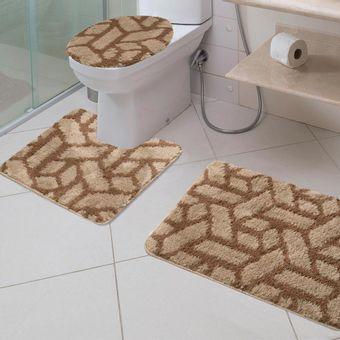 Jogo-de-Tapetes-para-Banheiro-3-Pecas-Jolitex-Absolut-Bricks
