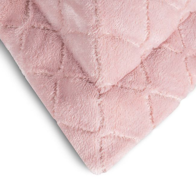 Porta-Travesseiro-em-Plush-Hedrons-Rosa-Cha-55x80cm