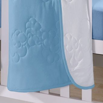 Edredom-para-Berco-Buettner-Azul