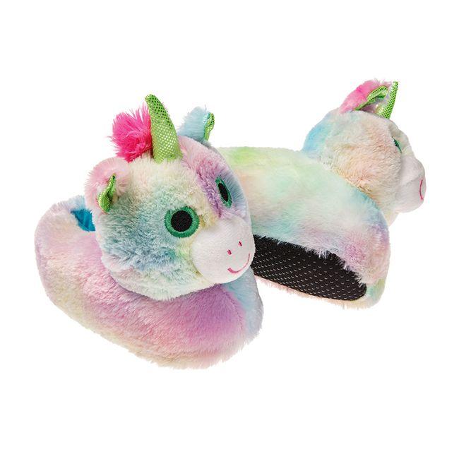 Pantufa-Infantil-Unicornio-Arco---Iris-Europa-28-29