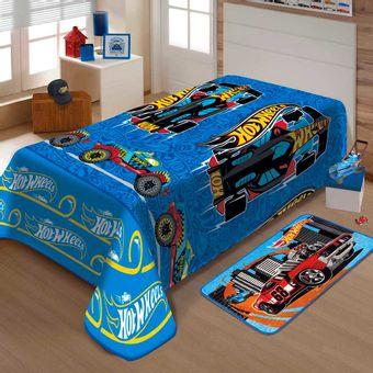 Manta-Infantil-Soft-Hot-Wheels-Corrida-150x200cm-Jolitex