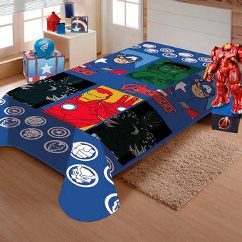Manta-Infantil-Soft-O-Poder-dos-Vingadores-150x200cm-Jolitex