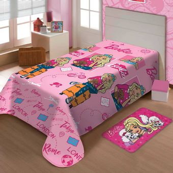 Manta-Infantil-Soft-Barbie-Viagens-150x200cm-Jolitex