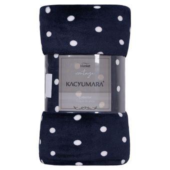 Cobertor-Queen-Kacyumara-Blanket-Vintage-300-g-m²-Marinho