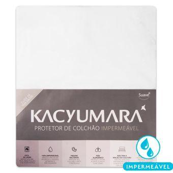 Protetor-de-Colchao-Impermeavel-para-Berco-em-Algodao-Kacyumara-Branco