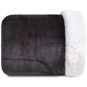 Edredom-com-Porta-Travesseiro-Queen-Size-Karsten-Plush-Sherpa-Sonata-Carbono