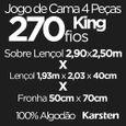 Jogo-de-Cama-King-Size-Karsten-270-Fios-4-Pecas-Allen