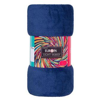 Manta-Casal-Europa-Microfibra-180x220cm-190-g-m²-Azul-Marinho