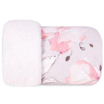 Cobertor-Casal-Dupla-Face-Hedrons-Plush-Sherpa-Magnolia