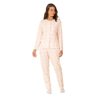Pijama-Feminino-Manga-Longa-com-Calca-Pzama-Meia-Malha-Fada-Xadrez--M-