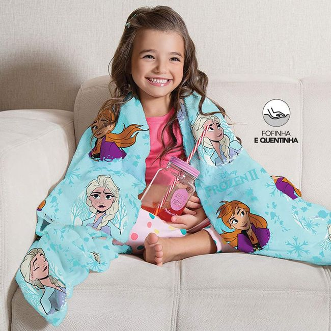 Manta-Infantil-para-Sofa-Fleece-Frozen-Lepper